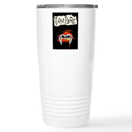 Vampire Punk Stainless Steel Travel Mug