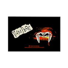 Vampire Punk Rectangle Magnet