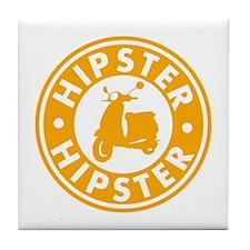 Hipster Tile Coaster