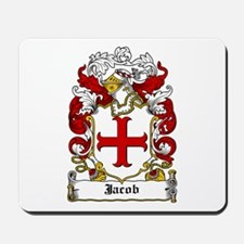 Jacob Coat of Arms Mousepad