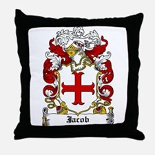 Jacob Coat of Arms Throw Pillow