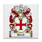 Jacob Coat of Arms Tile Coaster