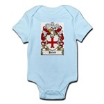Jacob Coat of Arms Infant Creeper