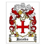 Jacobs Coat of Arms Small Poster