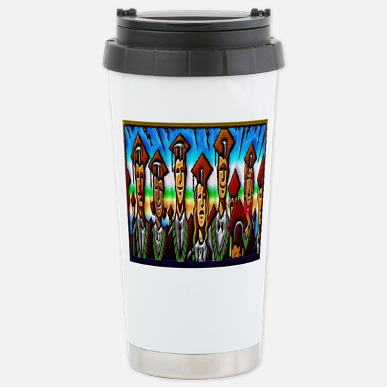 Stainless Steel Travel Mug Graduates celebration a