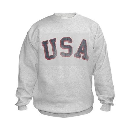 Vintage USA Kids Sweatshirt