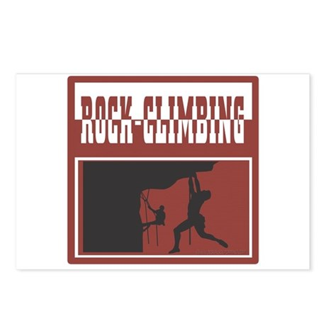 Rock Climber Postcards (Package of 8)