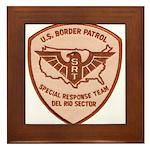 Border Patrol Del Rio SRT Framed Tile