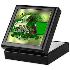 Happy St Dobies Day - Doberma Keepsake Box