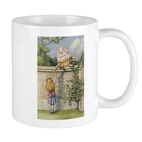 Alice and Humpty Dumpty Mug