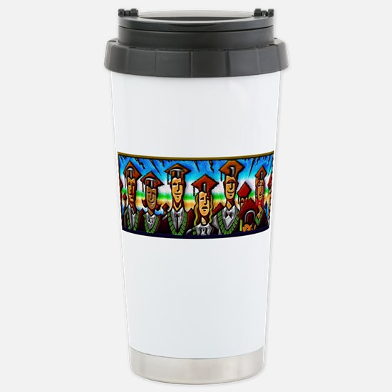 Stainless Steel Travel Mug Graduates education cel