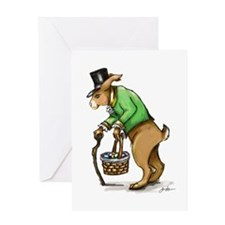 Peter Cotton Tail Greeting Card