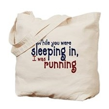 Sleeping in Tote Bag