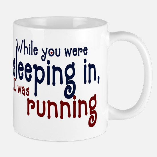 Sleeping in Mug
