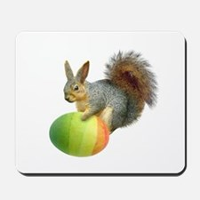 Easter Squirrel Mousepad