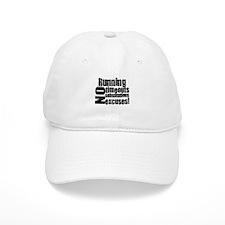 Running No Excuses Baseball Cap