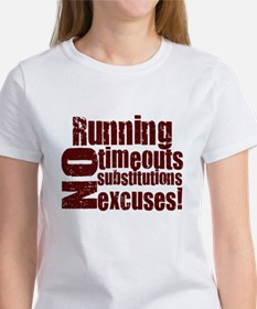 Running No Excuses Tee