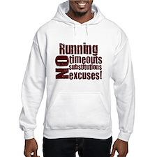 Running No Excuses Jumper Hoodie