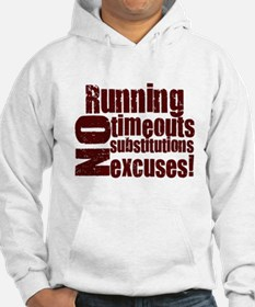 Running No Excuses Jumper Hoodie