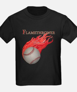 Flamethrower Baseball T
