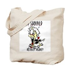 Survivor Boy Tote Bag