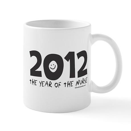 2012 - Year of the Nurse Mug