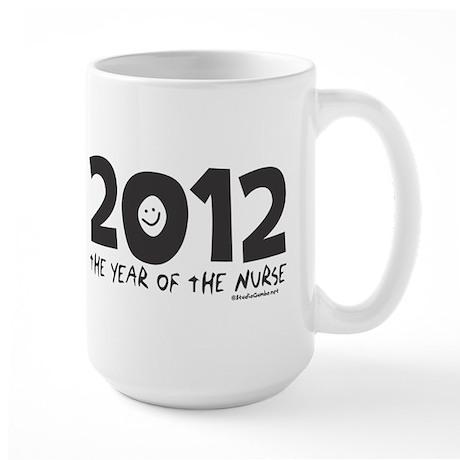 2012 - Year of the Nurse Large Mug