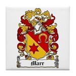 Marr Coat of Arms Tile Coaster