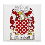 Marschall Coat of Arms Tile Coaster