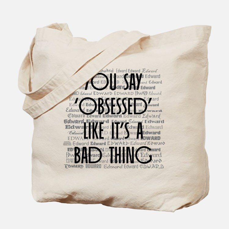 Obsessed with Edward Tote Bag