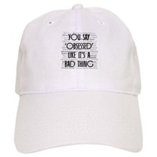 Obsessed with Edward Baseball Cap
