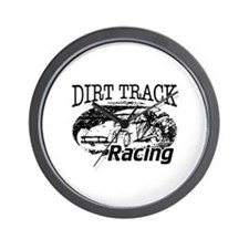 Dirt Track Racing Modifieds Wall Clock