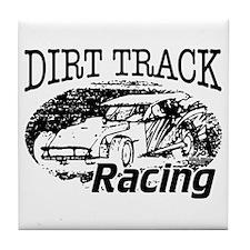 Dirt Track Racing Modifieds Tile Coaster