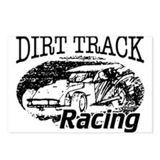Dirt Track Racing Modifieds Postcards (Package of