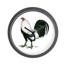 Duckwing Gamecock Wall Clock