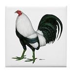 Duckwing Gamecock Tile Coaster