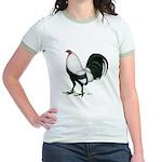 Duckwing Gamecock Jr. Ringer T-Shirt