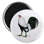 """Duckwing Gamecock 2.25"""" Magnet (100 pack)"""