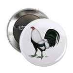 """Duckwing Gamecock 2.25"""" Button (10 pack)"""