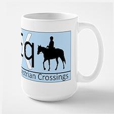 Equestrian Crossings Large Mug