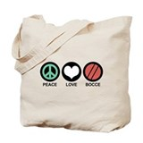 Bocce Regular Canvas Tote Bag