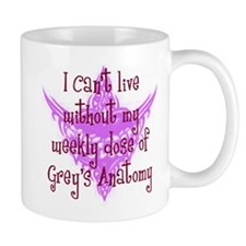 Can't Live Without Grey's Mug