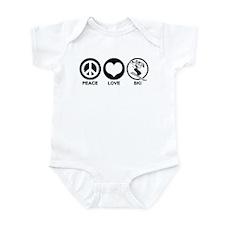 Peace Love Ski (female) Infant Bodysuit