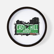 Castle Hill Av, Bronx, NYC Wall Clock
