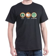 Peace Love St. Patrick T-Shirt