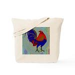 Impressionist Gamecock Tote Bag