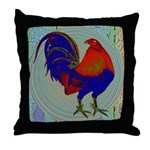 Impressionist Gamecock Throw Pillow