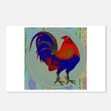 Impressionist Gamecock Postcards (Package of 8)