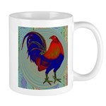 Impressionist Gamecock Mug