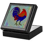 Impressionist Gamecock Keepsake Box